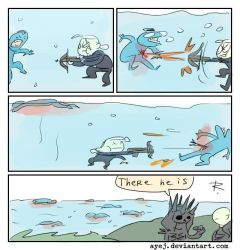 The Witcher 3, doodles 302 by Ayej