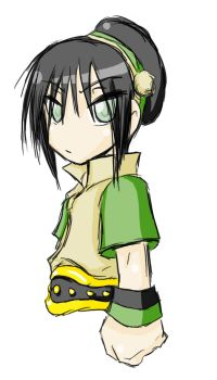 Green FTW -Toph- by Dyemelikeasunset