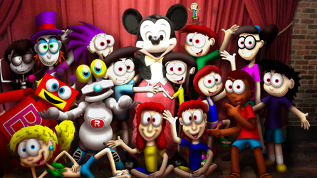 Mickey Mouse and the Jimenitoons by JIMENOPOLIX