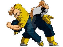 What If - Nappa Times Two by MalikStudios