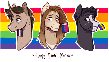 Happy Pride Month| LGBTQA by RomyvdHel-Art