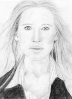 Anna Torv Portrait by BlaqkElectric