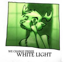 We change under white light by ArceDeer