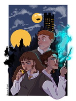 Harry Potter and the prisoner of Azkaban by BiancaScribbles