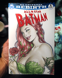 Poison Ivy sketch cover by WarrenLouw