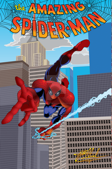 TheAmazingSpiderman Vector by polariswebworks