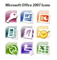 11 Office 2007 Icons by Joshu4
