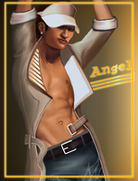 Angel from Dance central by littlegoblet