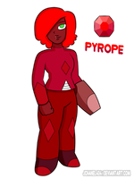 SU-OC-Pyrope (Request) by Jchanel404