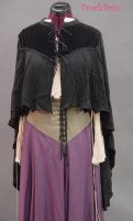 More Gothic capelet by FrockTarts