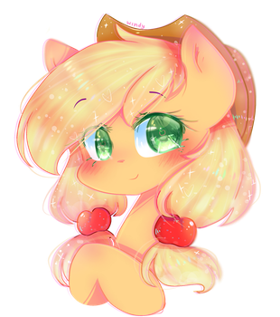 Applejack  by WindyMils