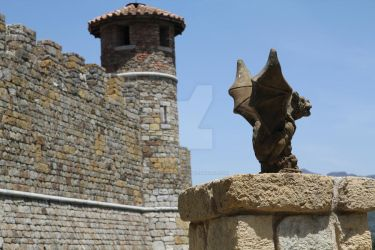 Napa Valley Winery Gargoyle by ChinookDesigns