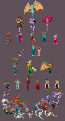 More xdragoon sprites by DOA687