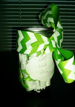 Small Pick Me Up Jar by TheMeTheyDontSee