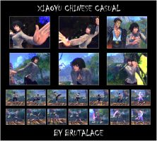 Xiaoyu Chinese Casual By BrutalAce by BrutalAce