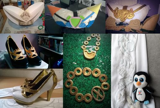 cosplay accesories by olinore