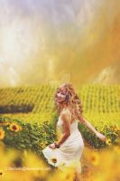 lady in the Meadow by cherie-stenson