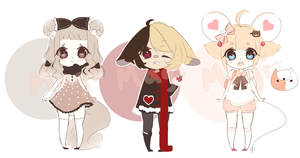 [paypal] kemonomimi adopts - 1/3 OPEN by magihime