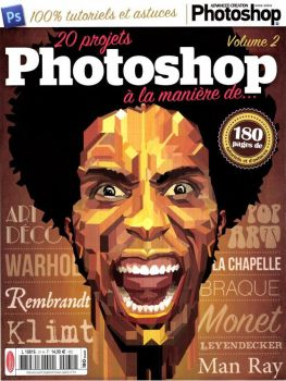 couverture magazine advanced photoshop by CDGRAFIK