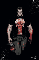 The Punisher - Colours by giantboydetective