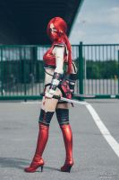 Red ninja by LuceCosplay