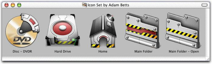 Industech Icon Set for Mac by adambetts
