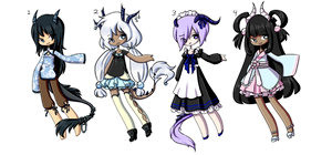 [Set Price COLLAB] Dragon Adopts [CLOSED] by MaiaSadoptsNstuff
