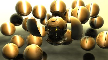 Cinema 4D Sphere Experiment by noseln77