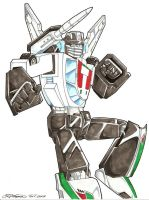 TF Commish - G1 Wheeljack by straya