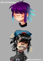 Doodles of Noodle by AirSketches