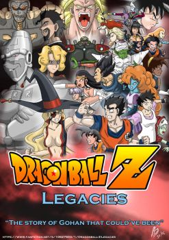 Dragonball Z - Legacies [Competition] by AlphaDelta1001