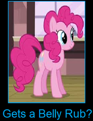 What if G4 Pinkie Pie gets a belly rub by arvinsharifzadeh