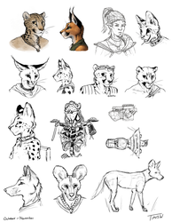 Sketches 12/17/17 by TitusWeiss