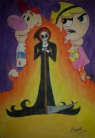 The Grim Adventures Of Billy  Mandy by Elveariel