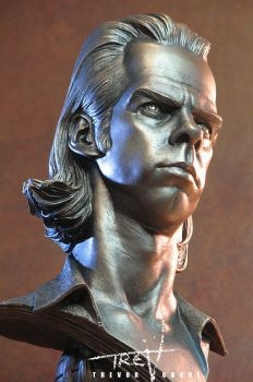 Nick Cave Bust by TrevorGrove