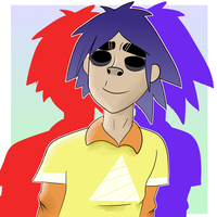 2-D is too cute. by sunny-dean