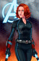 Black Widow - Age of Ultron by JamieFayX