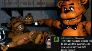 [Ask The Animatronics] #2 The Old Ones by Delirious411
