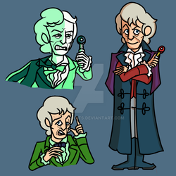3rd Doctor (2018 Remake) by TripodArts