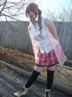 Serah - Sister of Lightning by roseandblossom