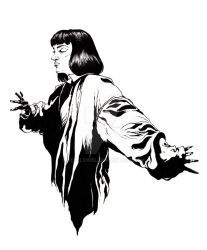 Mrs Mia Wallace by YelllowEl
