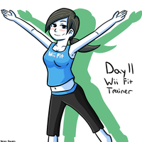Smashvember 11 Wii Fit Trainer by thegamingdrawer