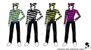 Panda Hoodies Design by IIIXandaP