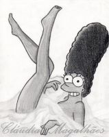 Marge Simpson on PLAYBOY by ClaudiaM94
