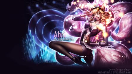 Ahri by victortmf