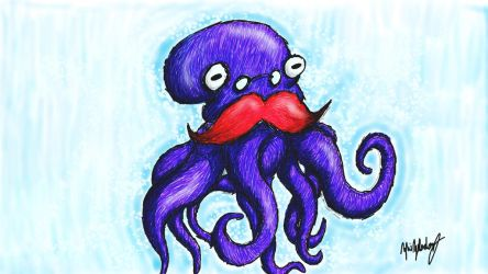 Henry The Octopus by sleepysatyr