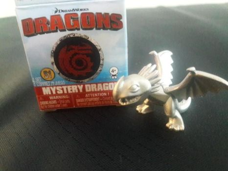 2017 DW Dragons MysteryDragon RARE Stormfly Figure by PokeLoveroftheWorld