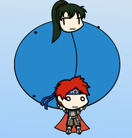 Roy and Lyn's Flying Day by SimplePixelArtArtist