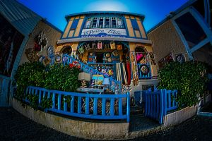 Blue House by bulgphoto