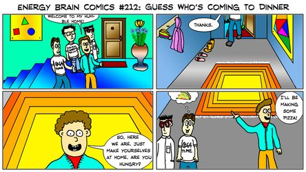 EBC #212: Guess Who's Coming To Dinner by EnergyBrainComics